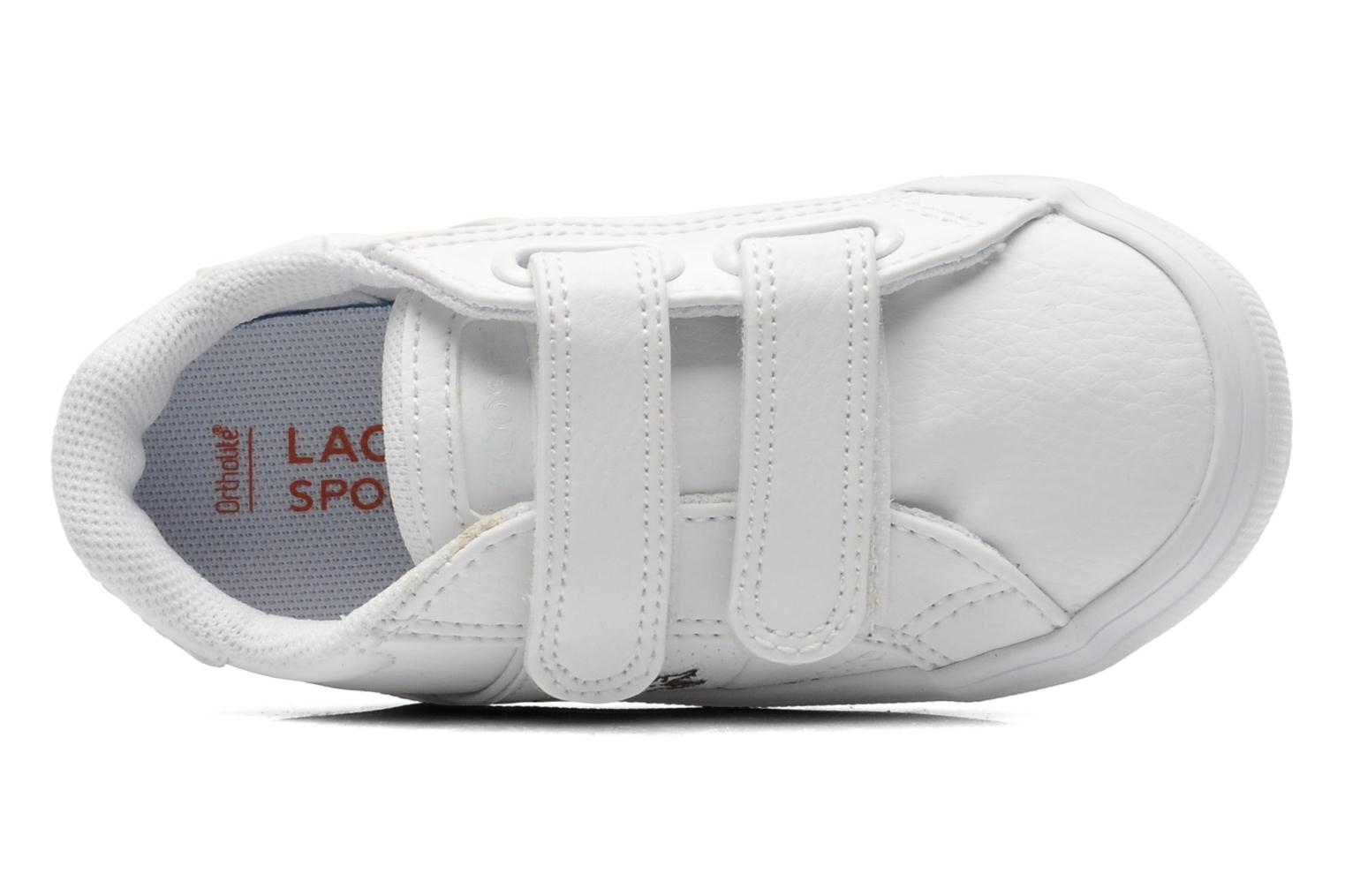 Trainers Lacoste FAIRLEAD FSM SPI White view from the left