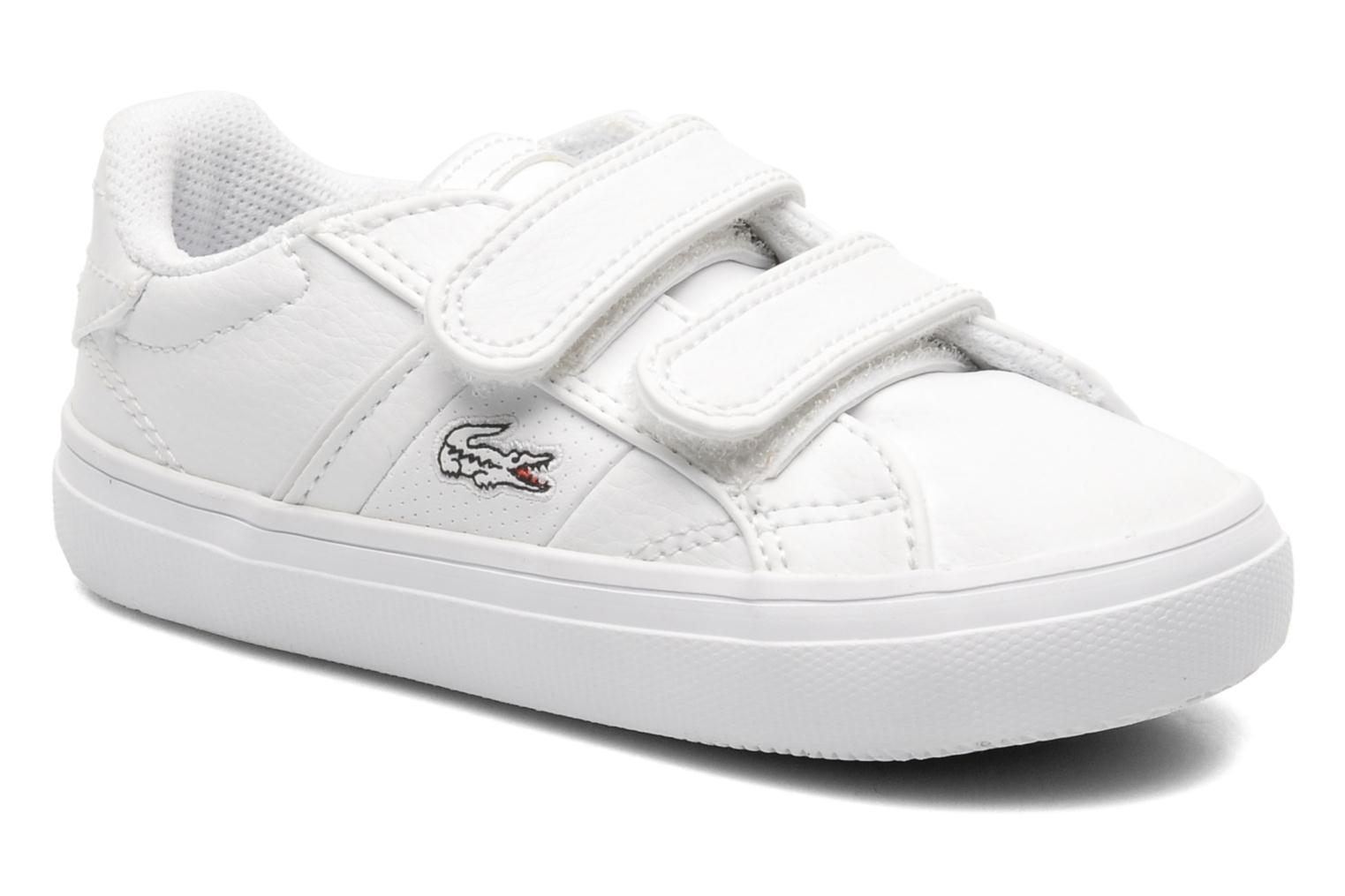 Trainers Lacoste FAIRLEAD FSM SPI White detailed view/ Pair view