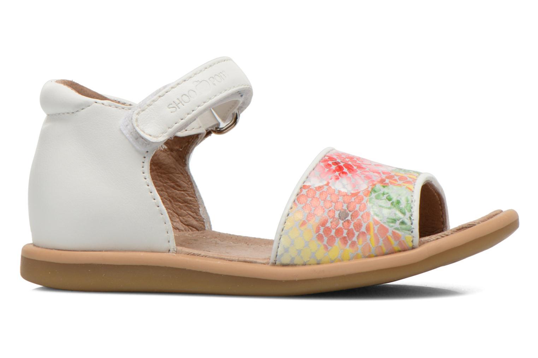 Tity Back Sandal Jaune Multi-Blanc