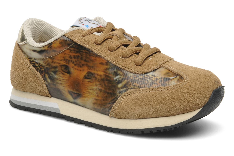 Sneaker Shoo Pom RUNNY LACE beige detaillierte ansicht/modell