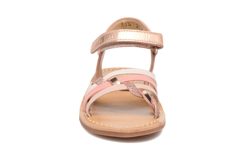 Sandalen Pom d Api YAPO TRESSE mehrfarbig schuhe getragen