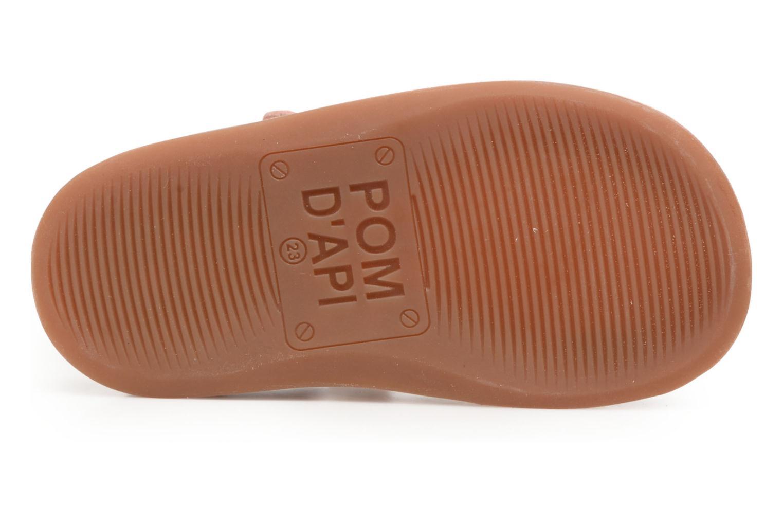Sandalen Pom d Api YAPO TRESSE mehrfarbig ansicht von oben