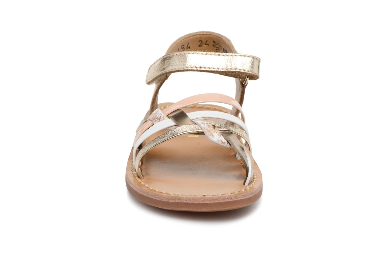 Sandals Pom d Api YAPO TRESSE Multicolor model view