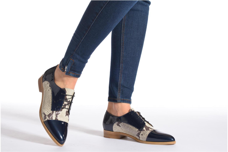Chaussures à lacets Rebecca Balducci Marlène Multicolore vue bas / vue portée sac