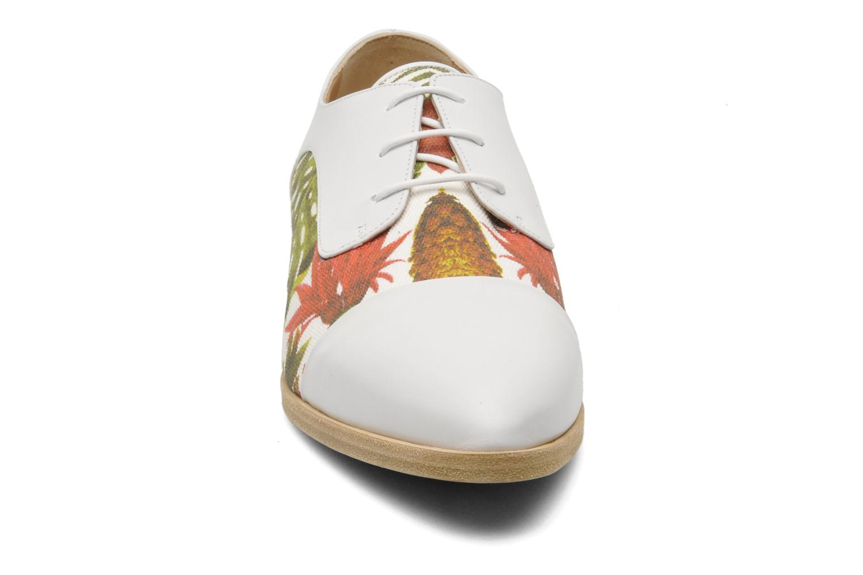 Zapatos con cordones Rebecca Balducci Marlène Multicolor vista del modelo