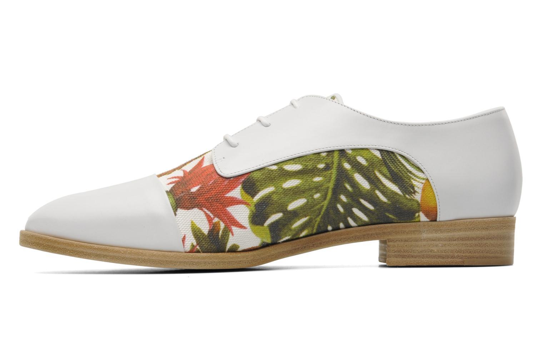 Zapatos con cordones Rebecca Balducci Marlène Multicolor vista de frente