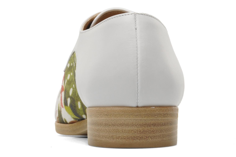 Zapatos con cordones Rebecca Balducci Marlène Multicolor vista lateral derecha