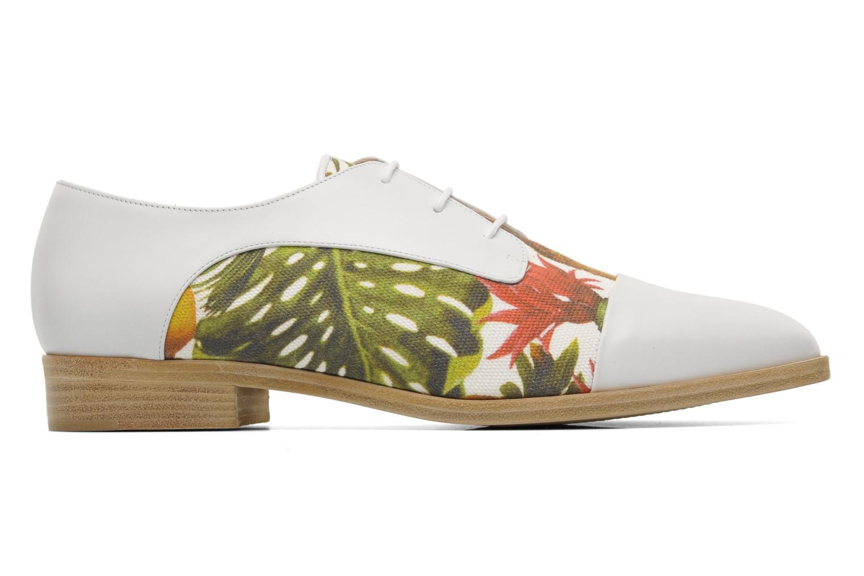Zapatos con cordones Rebecca Balducci Marlène Multicolor vistra trasera