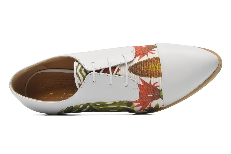 Zapatos con cordones Rebecca Balducci Marlène Multicolor vista lateral izquierda
