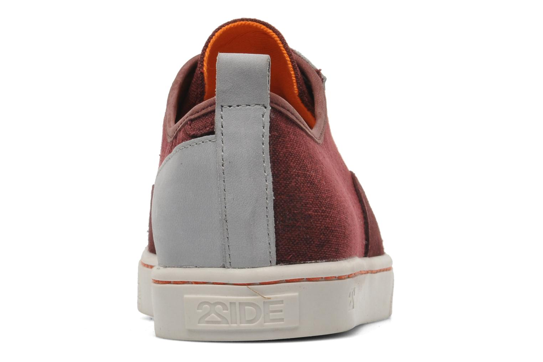 Sneakers 2 Side 2S - SURF Bordeaux Se fra højre
