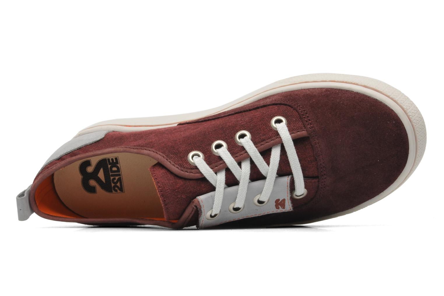 Baskets 2 Side 2S - SURF Bordeaux vue gauche