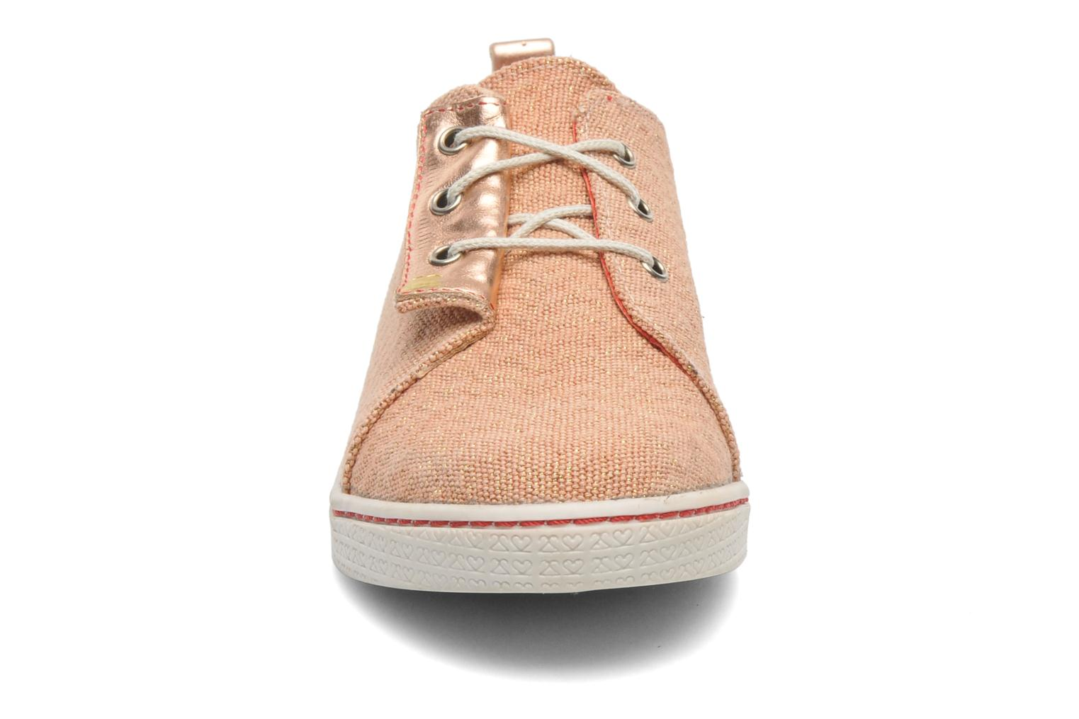 Sneakers 2 Side 2S - SWING Rosa modello indossato