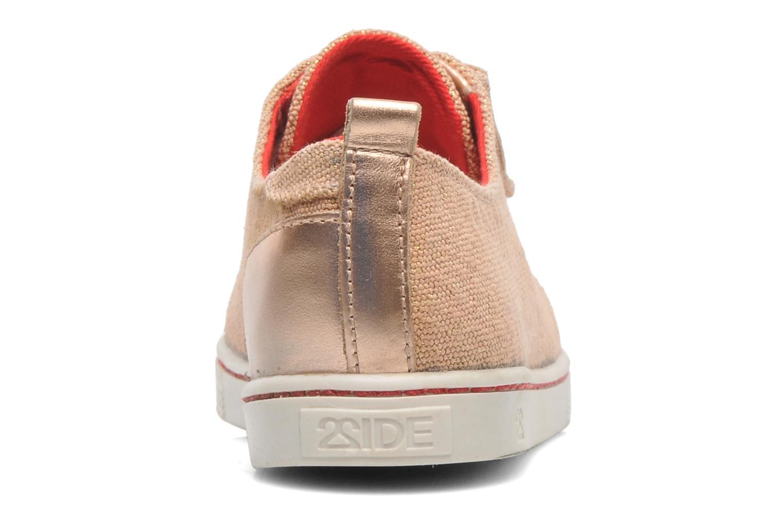 Sneakers 2 Side 2S - SWING Rosa immagine destra