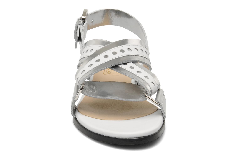 Sandales et nu-pieds Rebecca Balducci Garda Argent vue portées chaussures
