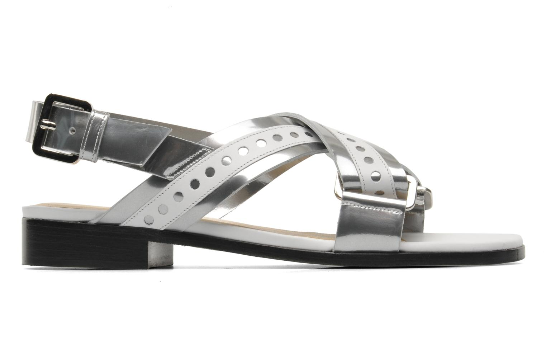 Sandales et nu-pieds Rebecca Balducci Garda Argent vue derrière
