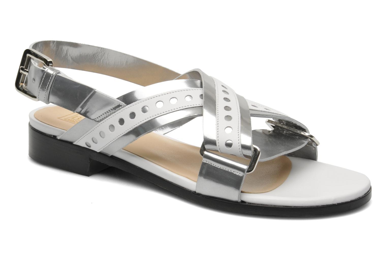 Sandales et nu-pieds Rebecca Balducci Garda Argent vue détail/paire