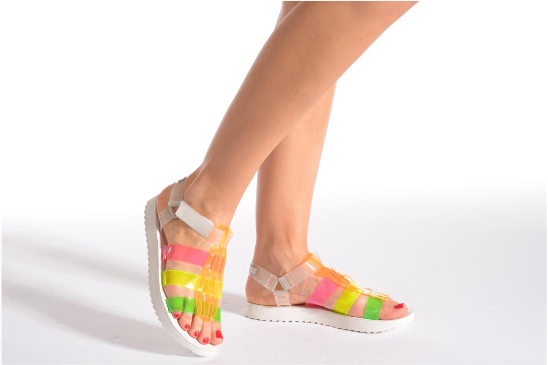 Sandalen Eleven paris Duse F mehrfarbig ansicht von unten / tasche getragen