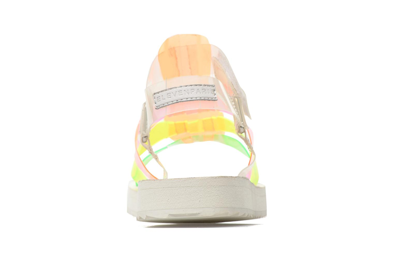 Sandalen Eleven paris Duse F mehrfarbig ansicht von rechts
