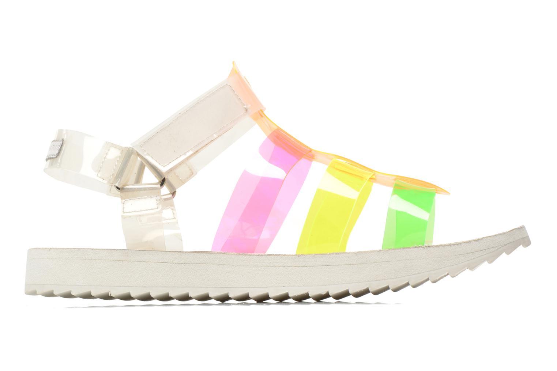 Sandalen Eleven paris Duse F mehrfarbig ansicht von hinten