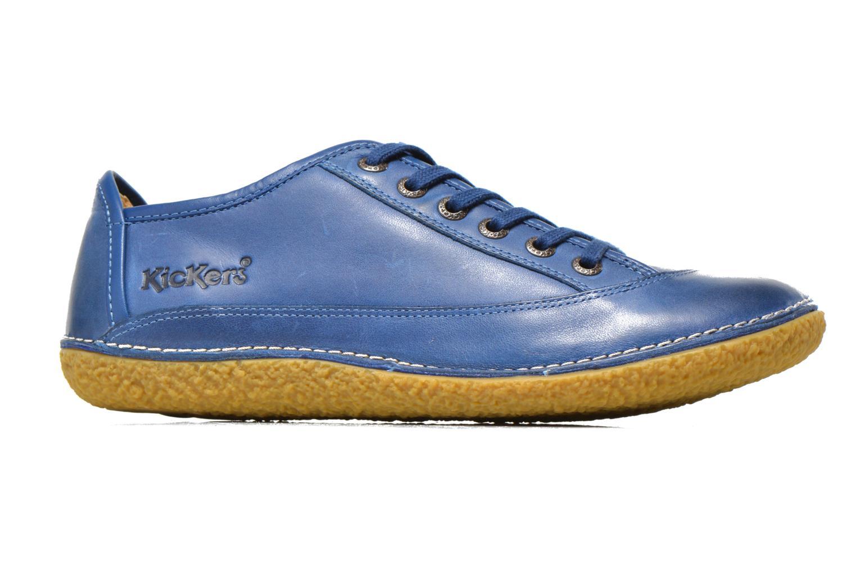 Snörade skor Kickers Hollyday Blå bild från baksidan