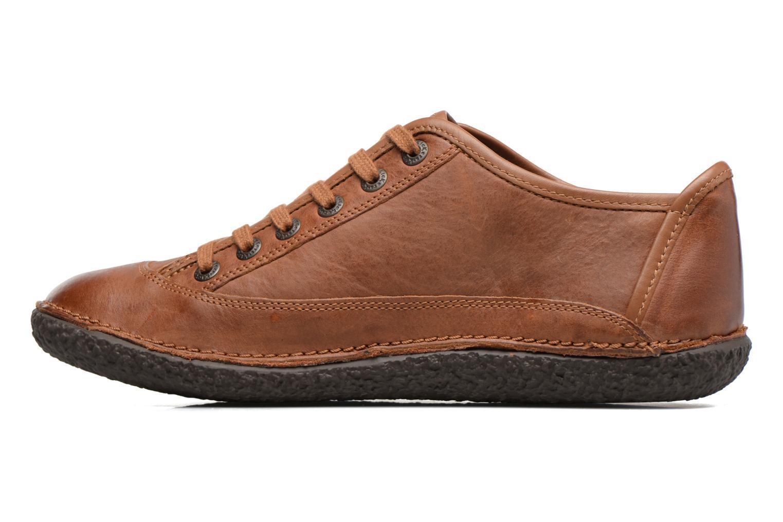 Zapatos con cordones Kickers Hollyday Marrón vista de frente
