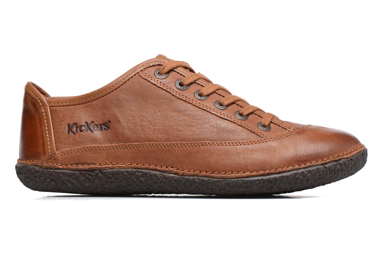 Zapatos con cordones Kickers Hollyday Marrón vistra trasera