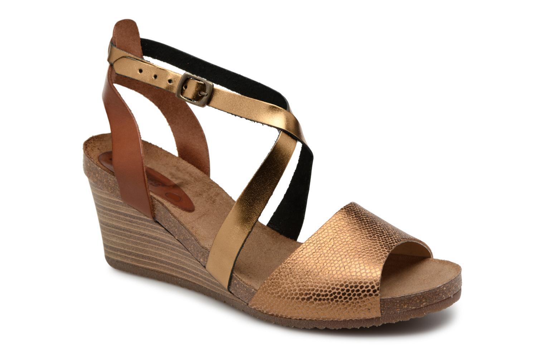 Zapatos casuales salvajes Kickers Spagnol (Oro y bronce) - Sandalias en Más cómodo