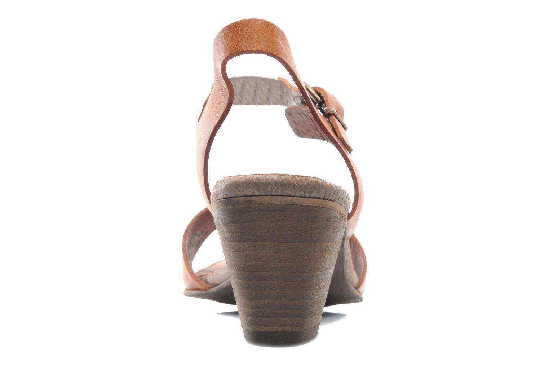 Sandales et nu-pieds Kickers Seatdown Marron vue droite