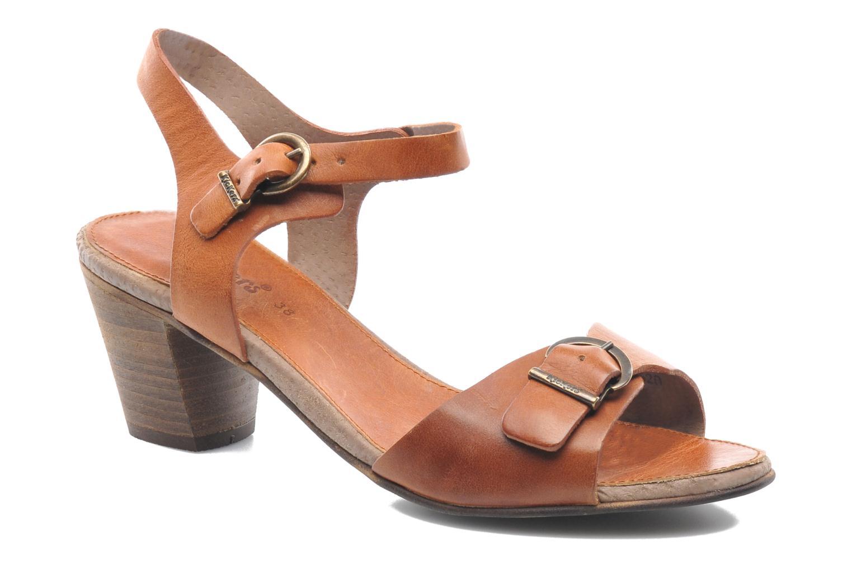 Sandales et nu-pieds Kickers Seatdown Marron vue détail/paire