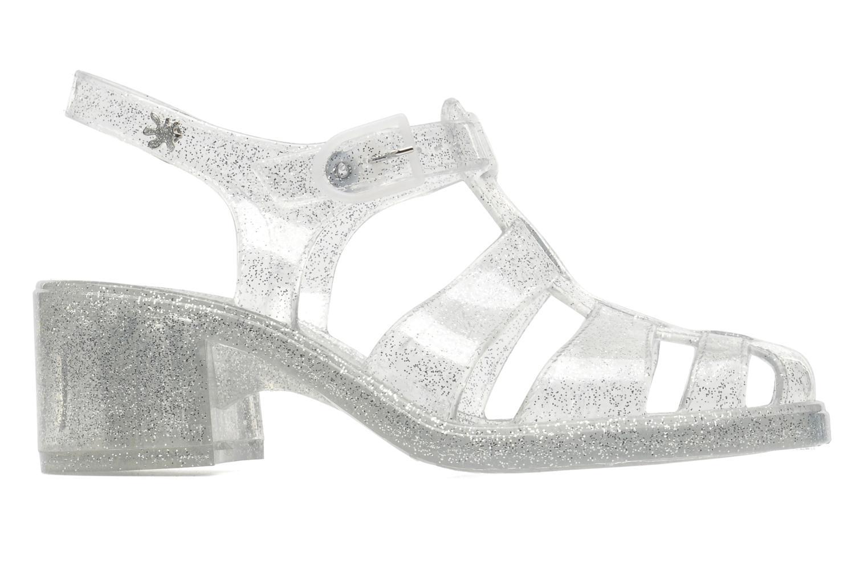 Sandales et nu-pieds Méduse Nikita Argent vue derrière