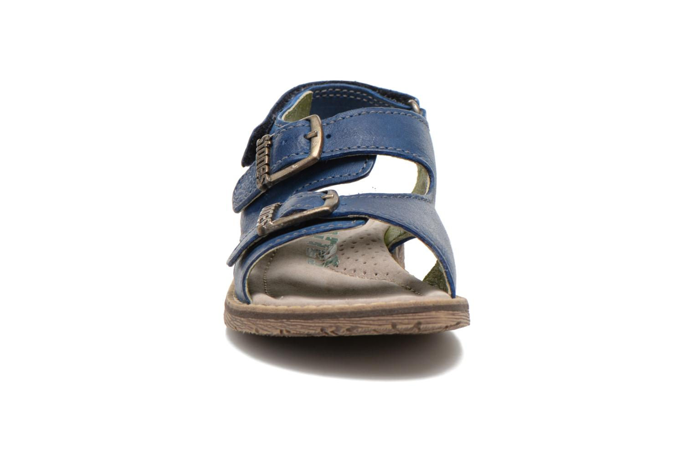 Sandales et nu-pieds Stones and Bones Dardo Bleu vue portées chaussures