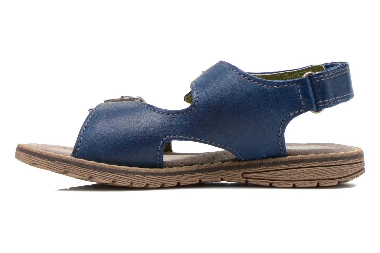 Sandales et nu-pieds Stones and Bones Dardo Bleu vue face