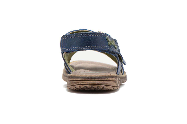 Sandales et nu-pieds Stones and Bones Dardo Bleu vue droite