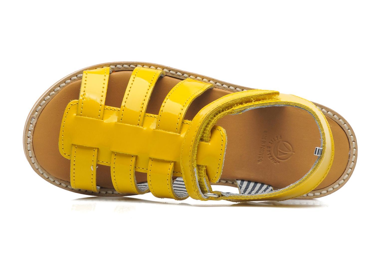 Sandales et nu-pieds Petit bateau Nut Jaune vue gauche