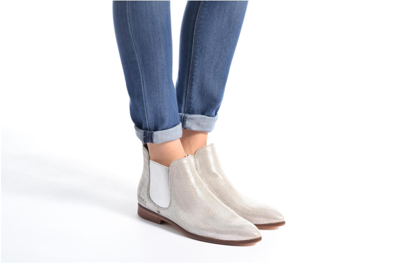 Bottines et boots Melvin & Hamilton Jessy 1 Beige vue bas / vue portée sac