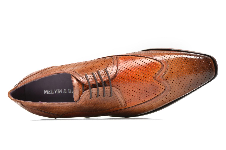 Chaussures à lacets Melvin & Hamilton Lance 11 Orange vue gauche