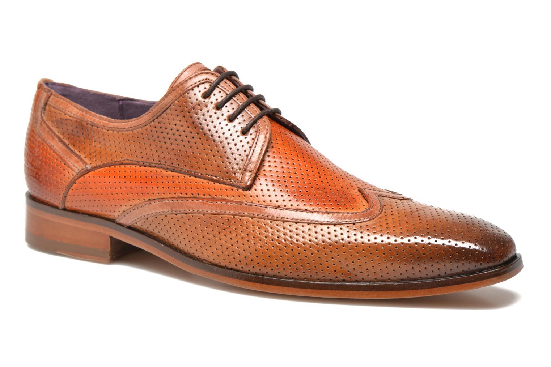 Chaussures à lacets Melvin & Hamilton Lance 11 Orange vue détail/paire