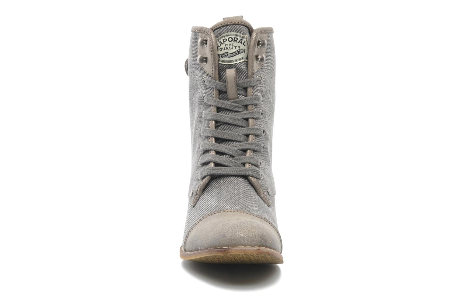 Ankle boots Kaporal Bishop Grey model view