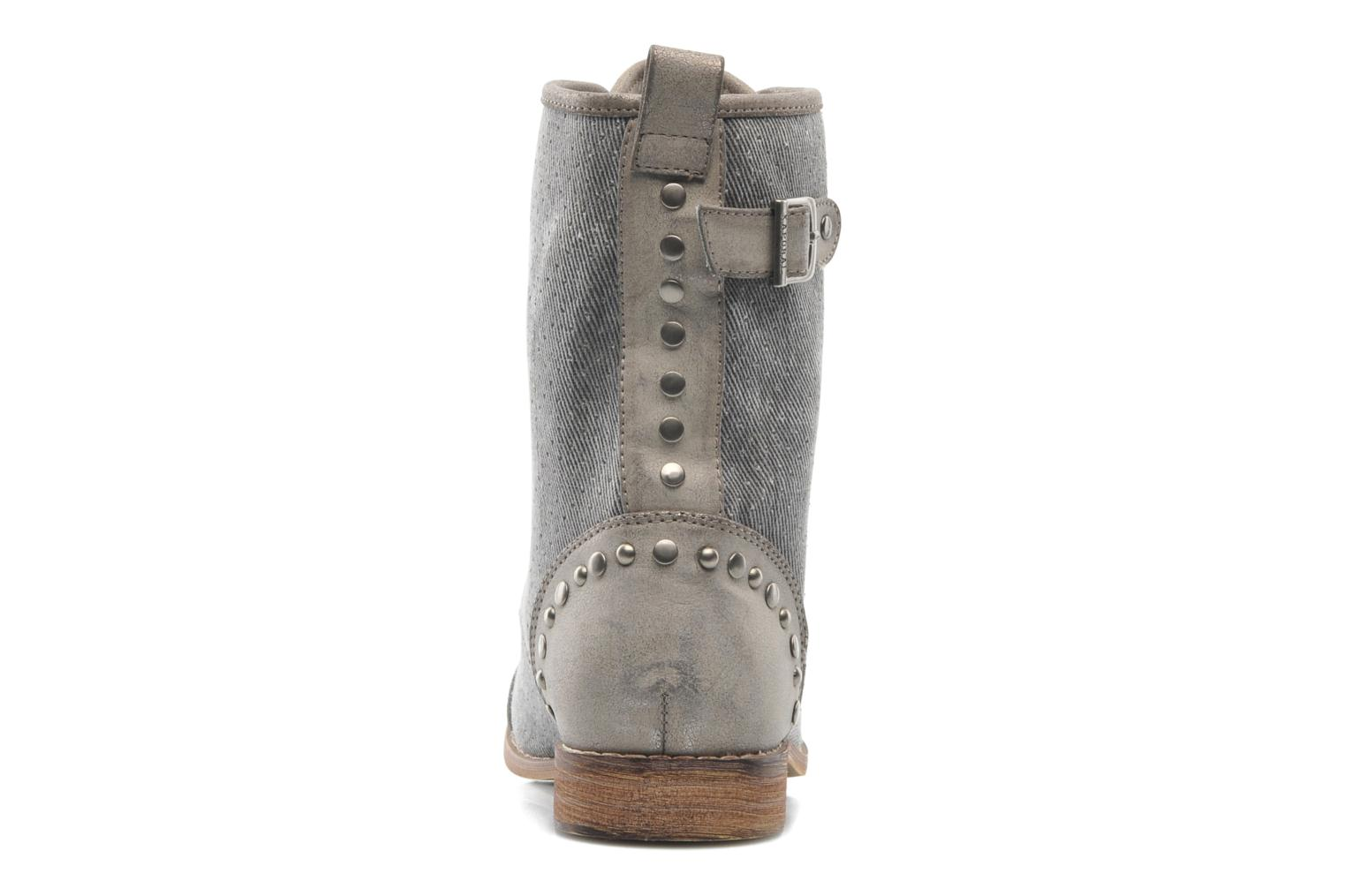 Ankle boots Kaporal Bishop Grey view from the right