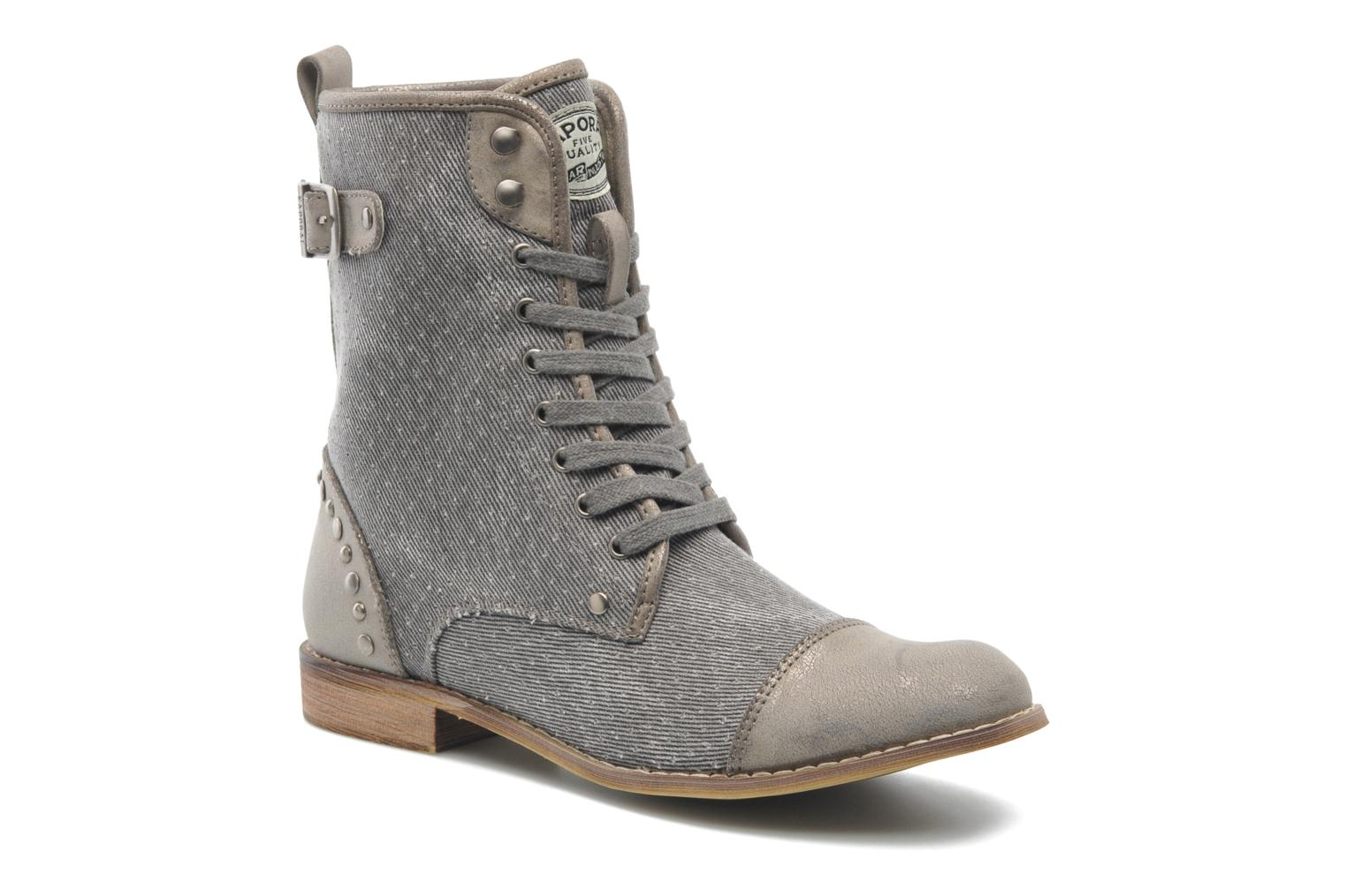 Ankle boots Kaporal Bishop Grey detailed view/ Pair view