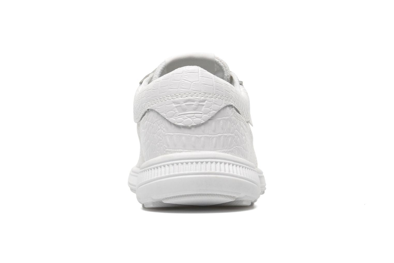 Baskets Supra Hammer run W Blanc vue droite