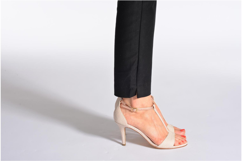 Sandales et nu-pieds Tamaris Marlon Rose vue bas / vue portée sac