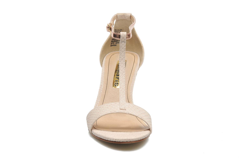 Sandales et nu-pieds Tamaris Marlon Rose vue portées chaussures