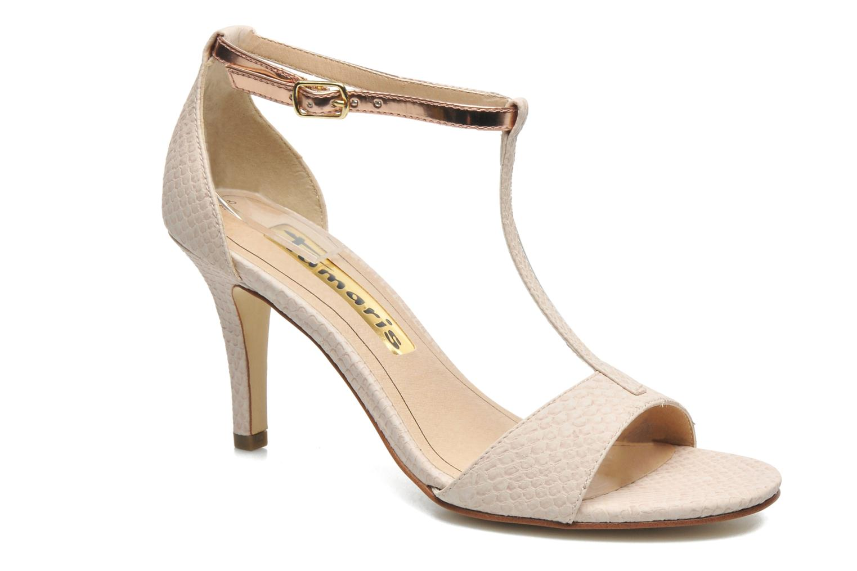 Sandales et nu-pieds Tamaris Marlon Rose vue détail/paire