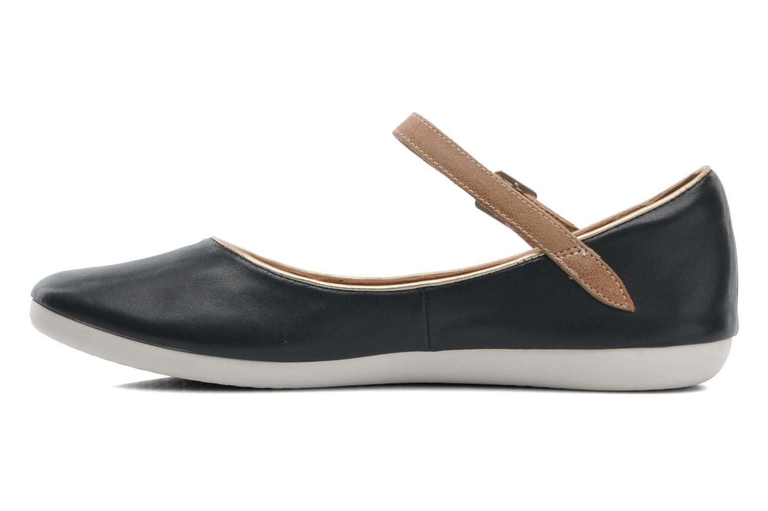 Ballet pumps Clarks Feature Film Black front view