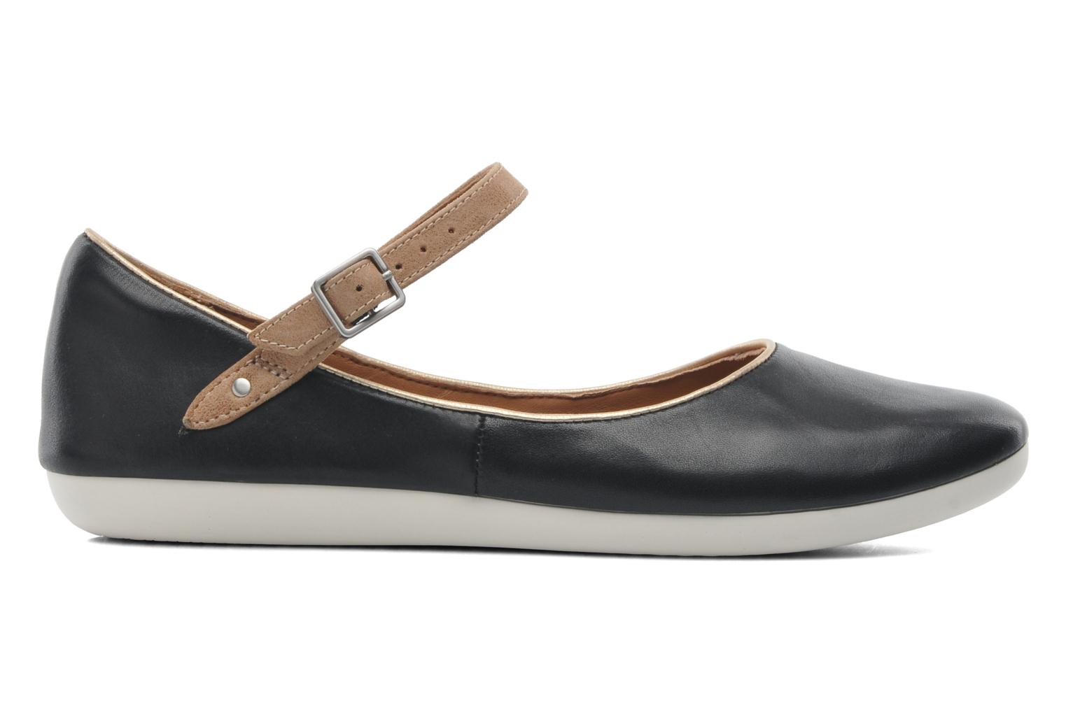 Ballet pumps Clarks Feature Film Black back view