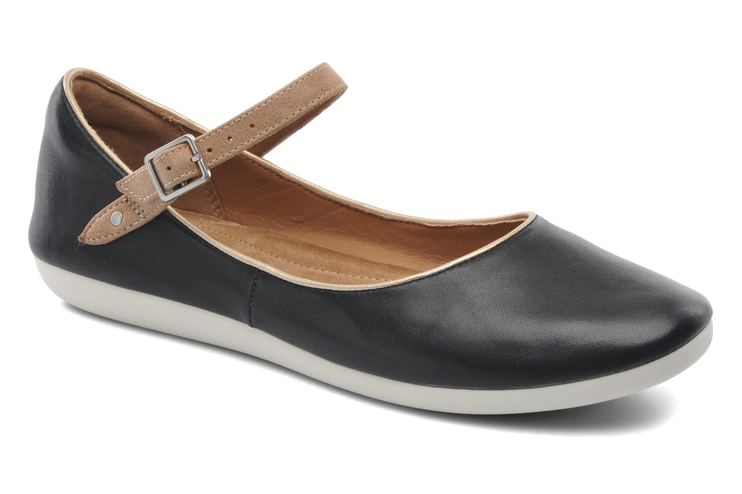 Ballet pumps Clarks Feature Film Black detailed view/ Pair view