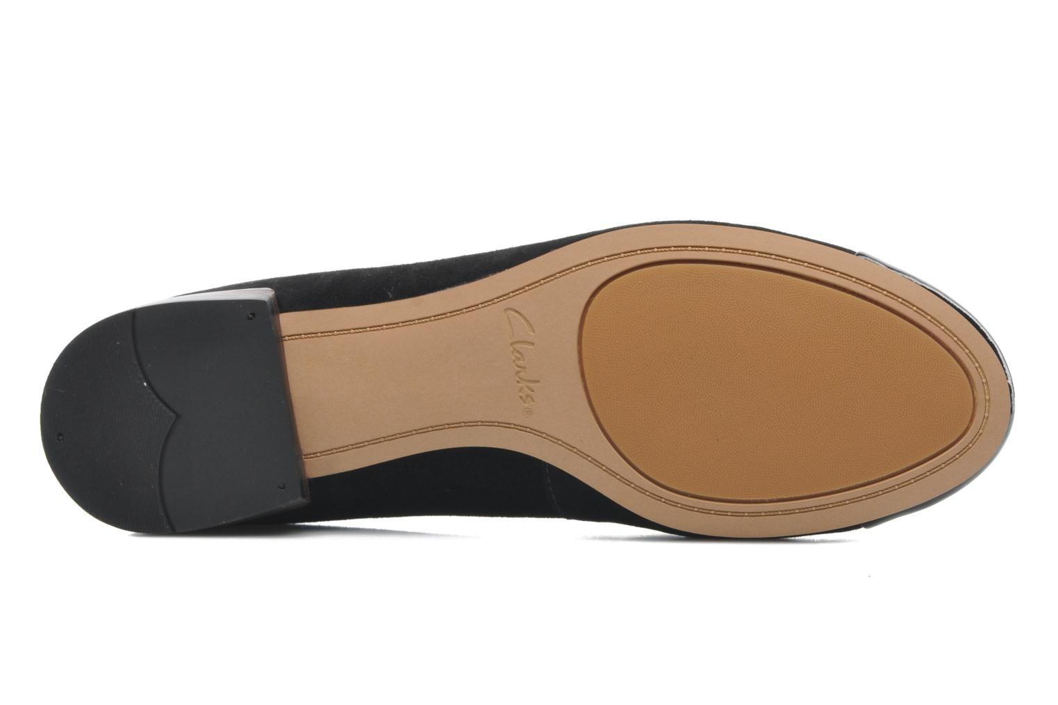 Ballet pumps Clarks Festival Gold Black view from above