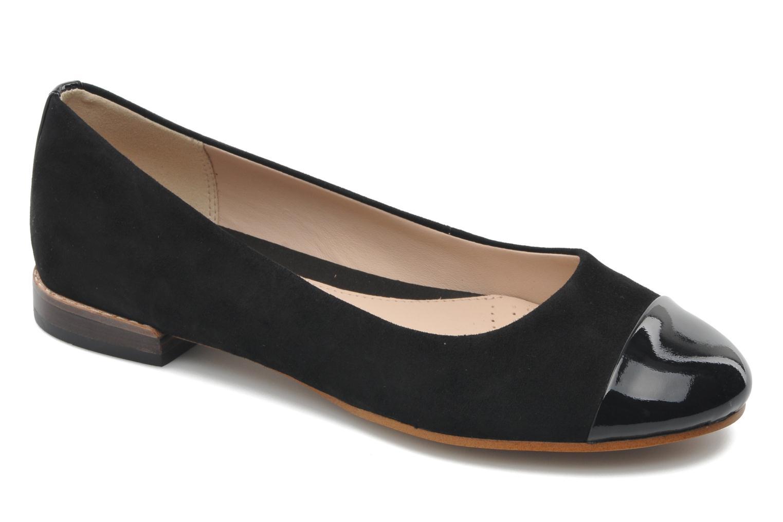 Marques Chaussure femme Clarks femme Festival Gold Black Combi