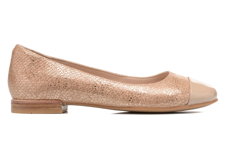 Ballerina's Clarks Festival Gold Goud en brons achterkant